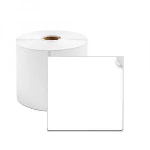Etichete termice universale 50 x 60mm, hartie alba, permanente, 1 rola, 130 etichete/rola, pentru imprimanta M110 si M2000