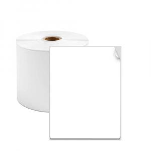 Etichete termice universale 60 x 40mm, plastic alb, permanente, 1 rola, 180 etichete/rola, pentru imprimanta AYMO M2000