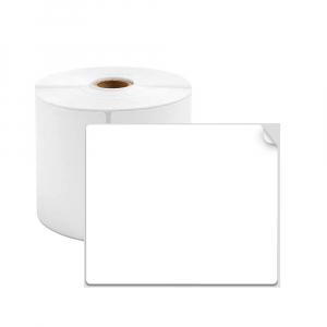 Etichete termice universale 60 x 80mm, plastic alb, permanente, 1 rola, 100 etichete/rola, pentru imprimanta AYMO M2000