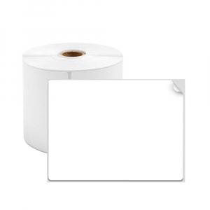 Etichete termice universale 70 x 80mm, plastic alb, permanente, 1 rola, 100 etichete/rola, pentru imprimanta AYMO M2000