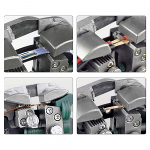 Decablator universal de mare precizie Engineer PAW-01, ajustare automata diametru, 3 in 1 (taiere, dezizolare, sertizare)3
