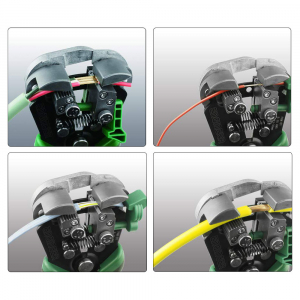 Decablator universal de mare precizie Engineer PAW-01, ajustare automata diametru, 3 in 1 (taiere, dezizolare, sertizare)1
