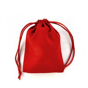 Saculet nabuc (imitatie piele) rosu 12cm x 9cm1
