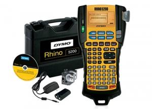 Aparat de etichetat Dymo Rhino 5200, ABC, KIT si 4 x banda vinil DY8414005
