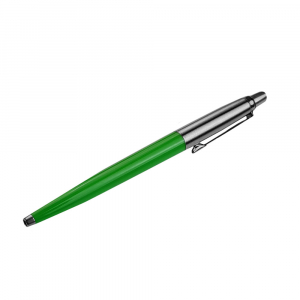 Pix cu mecanism PARKER Jotter, 0.8 mm, verde cu logo sancogrup3