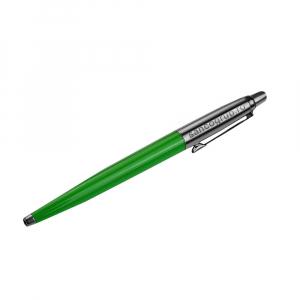 Pix cu mecanism PARKER Jotter, 0.8 mm, verde cu logo sancogrup