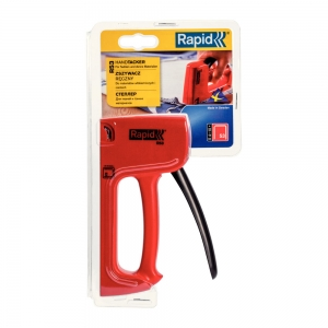 Rapid R53E Staple Gun, ergonomic, staples 53/4-10 mm, 3 year guarantee, 2044380210