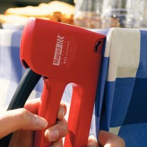 Set capsator tapiterie Rapid R53E, capse 53/4-10 mm, include 1068 capse Rapid 53 204438524