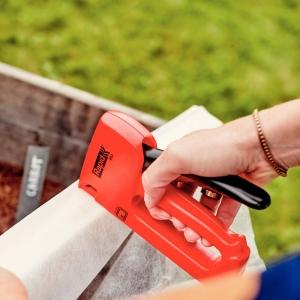 Set capsator tapiterie Rapid R53E, capse 53/4-10 mm, include 1068 capse Rapid 53 204438529
