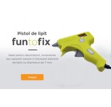 Pistol de lipit Rapid Fun to Fix G1010, 20W, 100g/h, diametrul de 7mm0