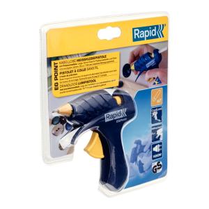 Rapid EG Point Cordless Glue Gun  80W 150g/h Ø7mm10