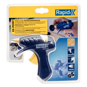 Rapid EG Point Cordless Glue Gun  80W 150g/h Ø7mm9