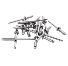 Popnituri Rapid Otel inoxidabil - diametrul de 4 mm x 14 mm, burghiu inclus, 50 buc/ blister4