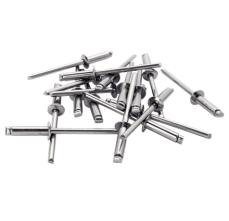 Popnituri Rapid cu cap larg, Ø4.8X18mm, aluminiu, burghiu inclus, 40 buc/ blister1