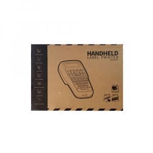 Aparat etichetat Sanco E1000 profesional portabil compatibil cu toate benzile Brother cu latime 6, 9, 12mm, incarcator la retea 230V3