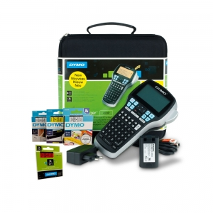 Aparat etichetat (imprimanta etichete) DYMO LabelManager 420, ABC, kit cu servieta, conectare la PC S0915480 9154800