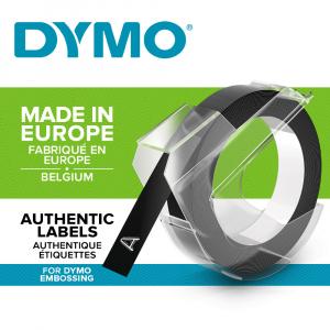 Aparat etichetat Dymo Omega si 4 role etichete 3D, embosabile, DY1274824