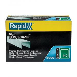 Capse Rapid 140/6, sarma plata galvanizata, High Performance, pentru acoperis, 5000 capse/cutie carton 1190571123