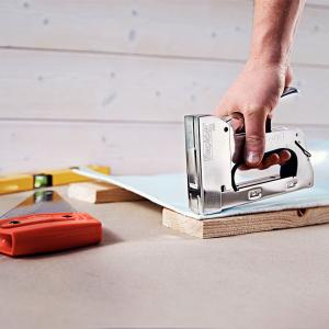Capse Rapid 140/6, sarma plata galvanizata, High Performance, pentru acoperis, 5000 capse/cutie carton 119057118
