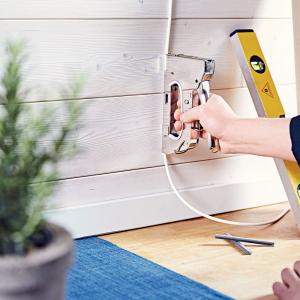 Capse albe Rapid 28/11 mm pentru cabluri, High Performance, galvanizate, semicirculare, divergente, 1000 capse/cutie 118919318