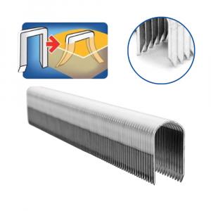 Capse Rapid 36/10 mm pentru cabluri, High Performance, galvanizate, semicirculare, divergente DP, 1000 capse/cutie 118844101