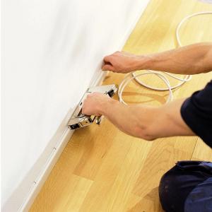 Capse albe Rapid 36/14 mm pentru cabluri, High Performance, galvanizate, semicirculare, divergente, 1000 capse/cutie 118869114