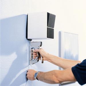 Capse albe Rapid 36/14 mm pentru cabluri, High Performance, galvanizate, semicirculare, divergente, 1000 capse/cutie 118869115