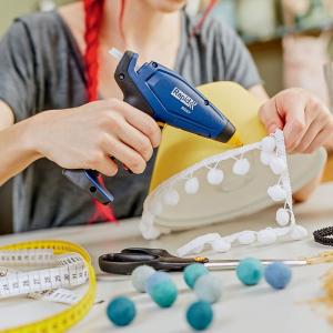 Baton silicon Rapid Decoratiuni Fun to Fix color Modern (albastru, galben, roz, verde si vernil), Universal, Ø7mm x 90mm, baza EVA, 36 buc/blister 50014265