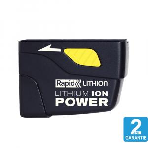Acumulator Rapid A300 Li-Ion pentru pistol lipit BGX300, 7.4V, 2600 mAh, fara auto-descarcare, pentru pistol lipit BGX300 403030771