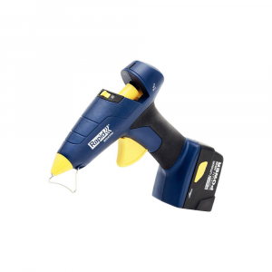 Pistol de lipit Rapid BGX300 cu acumulator, batoane silicon 12mm, 30W, debit 250 g/ora, acumulator Li-Ion inclus, 403030730