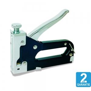 Capsator tacker Rapid Compacta, reglare forta actionare, aplicatii DIY, capse 53/6-14 mm, 2 ani garantie 115201101