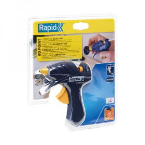 Pistol de lipit Rapid EG Point cordless, diametru 7mm, 80W, debit 80 g/h, 500043213