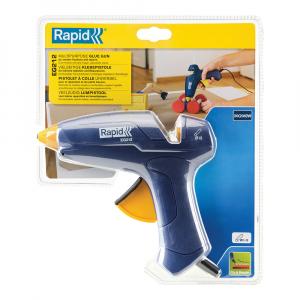 Pistol de lipit Rapid EG212, batoane silicon 12mm, maxim 180⁰C, 200W, debit 250 g/ora, 50004425