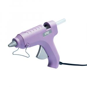Pistol de lipit Rapid Fun to Fix G1000, include 6 batoane silicon transparent diametru 12mm, 60W, 185°C, debit 150 g/h, 233731003
