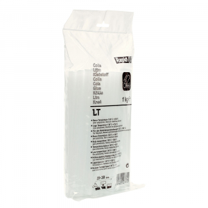 Batoane lipici Rapid Temperatura Scazuta 12mm x 190mm transparent, 1 kg/punga plastic 403027816