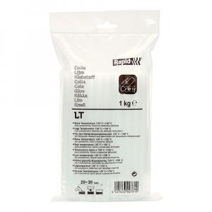 Batoane lipici Rapid Temperatura Scazuta 12mm x 190mm transparent, 1 kg/punga plastic 403027817