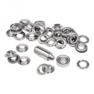 Ocheti Rapid diametru 10mm, otel finisat argintiu, include sistem de fixare, 25 buc/set 50004124