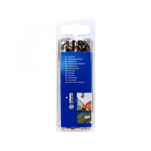 Ocheti Rapid diametru 10mm, otel finisat argintiu, include sistem de fixare, 25 buc/set 50004126