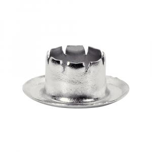 Ocheti Rapid diametru 8.0mm, otel finisat argintiu, include sistem de fixare, 25 buc/set 50004116