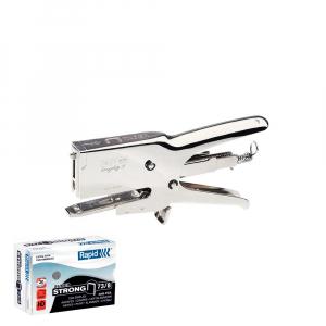 Capsator Cleste Rapid HD31 si o cutie de capse Rapid 73/8, Super Strong 5000 buc/cutie0
