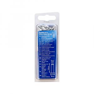 Nituri Rapid High Performance diametru 4.0mm x 14mm, aluminiu, burghiu metal HSS inclus, 50 buc/set 500038517