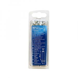 Nituri Rapid High Performance diametru 4.0mm x 18mm, aluminiu, burghiu metal HSS inclus, 50 buc/set 500038616