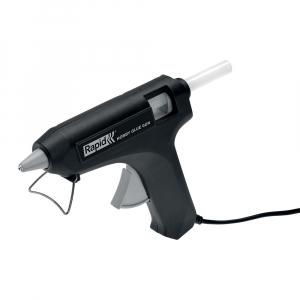 Pistol de lipit Rapid Hobby 12mm, include 6 batoane silicon transparent diametru 12mm, 72W, debit 125 g/h 249280001