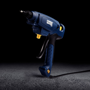 Pistol de lipit Rapid EG360 PRO industrial, batoane lipici 12 mm, putere 300W, temperatura reglabila 120°C - 230°C, debit lipici 1800 g/h, duze interschimbabile, actionare tragaci cu 4 degete, 50003289
