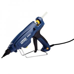 Pistol de lipit Rapid EG360 PRO industrial, batoane lipici 12 mm, putere 300W, temperatura reglabila 120°C - 230°C, debit lipici 1800 g/h, duze interschimbabile, actionare tragaci cu 4 degete, 50003288