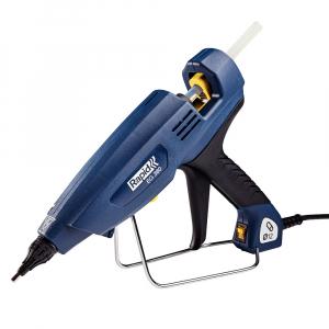 Pistol de lipit Rapid EG380 PRO Industrial, batoane lipici 12 mm, putere 400W, temperatura reglabila 130°C - 230°C, debit lipici 2200 g/h, duze interschimbabile, actionare tragaci cu 4 degete, 50003284
