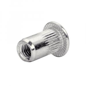Piulite Nit Tubulare cu filet interior Rapid M3, diametru 3 mm, otel cromat, burghiu metal inclus, 20 buc/blister 50006705