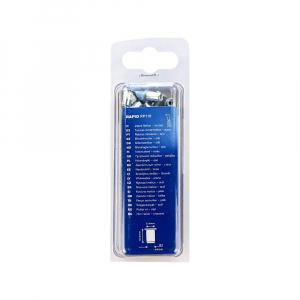 Piulite Nit Tubulare cu filet interior Rapid M4, diametru 5.9mm, otel cromat, burghiu HSS inclus, 20 buc/blister 50006717