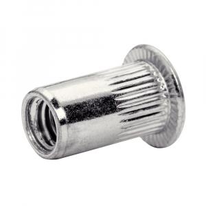 Piulite Nit Tubulare cu filet interior Rapid M5, diametru 6.9mm, otel cromat, burghiu HSS inclus, 20 buc/blister 50006724