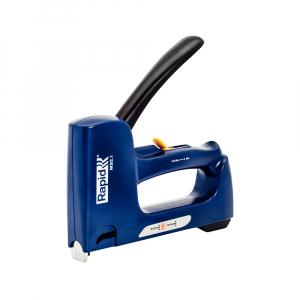 Capsator tacker Rapid Multitacker MS2.1, reglare forta capsare, nas lung, capse 53/6-12 mm, capse cabluri 7/12-14, fabricat in Suedia 50006250